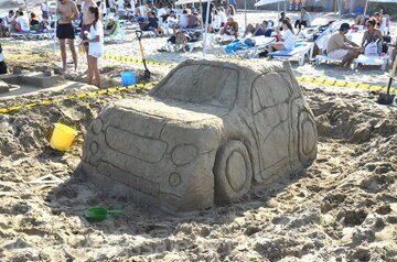 Фестиваль и конкурс песчаной скульптуры в Фамагусте