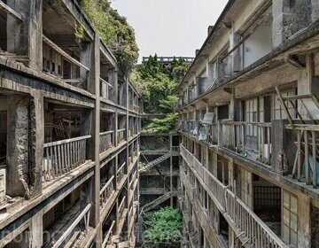 Hashima, Остров Хашима, Япония